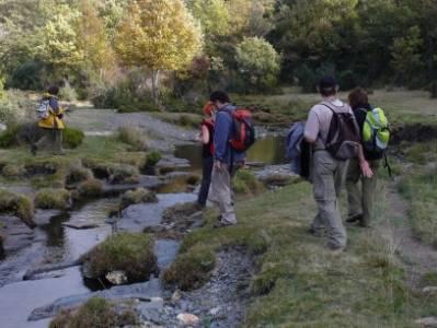 viaje octubre, Parque Natural del Hayedo de Tejera Negra; equipamiento senderismo